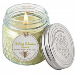 Verbena Blossom Nectar Candle in Bee Jar