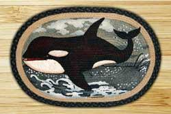 Whale Jute Rug