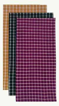 Williamsburg Check Dishtowel - Mustard