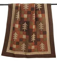 Winterwood Quilted Throw