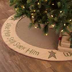 Wise Men 55 inch Tree Skirt