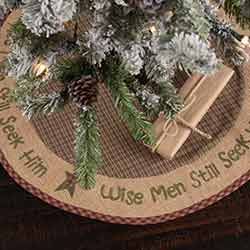 Wise Men Mini 21 inch Tree Skirt