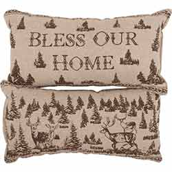 Woodland Christmas Pillow (Set of 2)