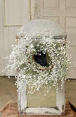 Sparkling Baby's Breath Wreath