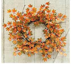 Harvest Maple & Berry Wreath