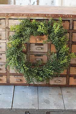 New England Boxwood Wreath