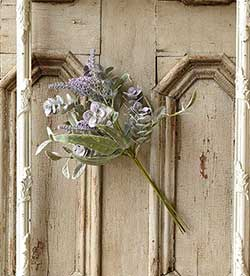 Lifting Lilac Artificial Floral Bunch