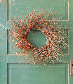 Bittersweet & Twig Wreath
