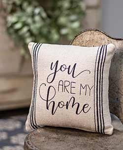 You Are My Home Throw Pillow