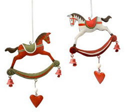 Springy Rocking Horse Ornament