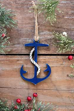 Our Backyard Studio Anchor Ornament