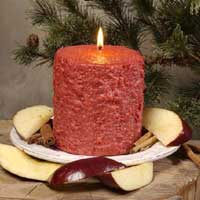 Apple Cinnamon Cake Candle