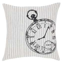 Ashmont Pocketwatch Decorative Pillow