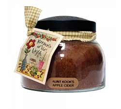 Aunt Kook's Apple Cider Keepers of the Light Jar Candle - Mama