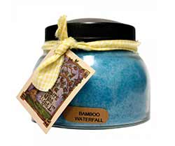 Bamboo Waterfall Keepers of the Light Jar Candle - Mama
