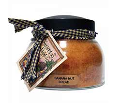 Banana Nut Bread Keepers of the Light Jar Candle - Mama
