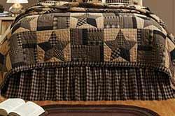 Bingham Star Bed Skirts (Multiple Size Options)