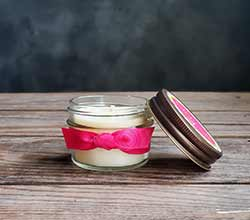 Birthday Cake Jelly Jar Candle - Judy Havelka