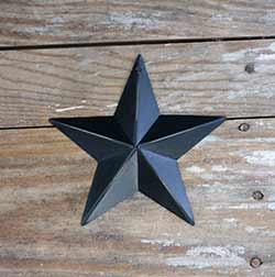 Black Barn Star (Multiple Size Options)