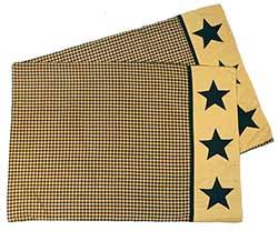 Jamestown Black & Tan Pillow Cases (Set of 2) - Standard