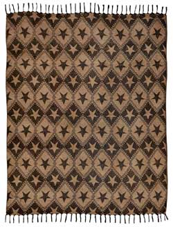 Jefferson Star Woven Throw
