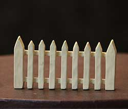 Cream Picket Fence