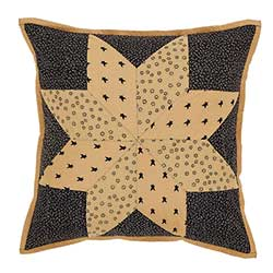Brockton Cabin Black Pillow