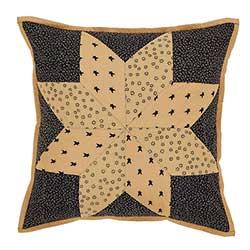 Brockton Cabin Black Pillow