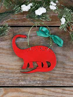 Brontosaurus Personalized Ornament