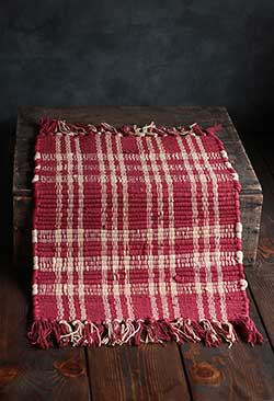 Middletown Red Plaid Placemat