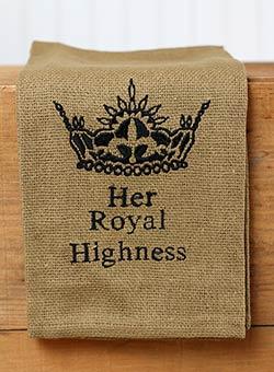 Her Royal Highness Dishtowel