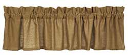 Deluxe Burlap Valance (72 inch)