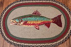 Trout Braided Jute Rug