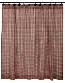 Canavar Ridge Shower Curtain