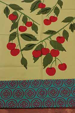 Jardin Cherries Dishtowel