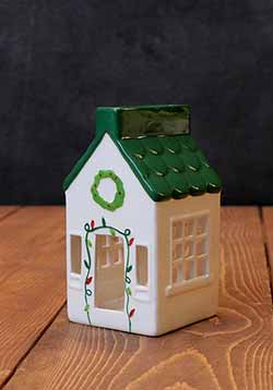 Holiday House Tealight - Tall