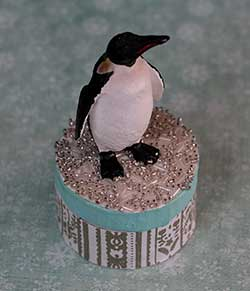 Penguin Candy Box