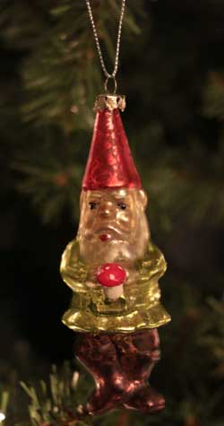 Magic Gnome Ornament