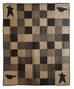 Kettle Grove Throw - Crow and Star