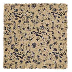 American Burlap Tablecloth - 60 x 60 inch