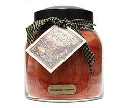 Cranberry Pumpkin Keepers of the Light Jar Candle - Papa