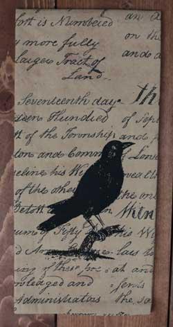 Crow Towel