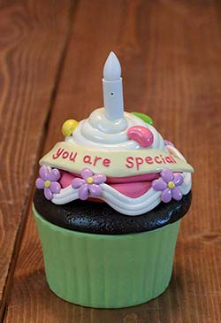 You Are Special Blow-out Cupcake Trinket Box