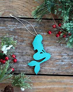 Mermaid Ornament (Personalized)