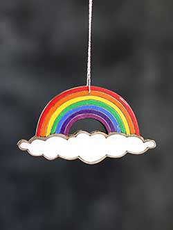 Rainbow Personalized Ornament