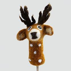 Deer Finger Puppet