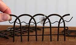 Fence Figurine