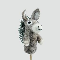 Donkey Finger Puppet