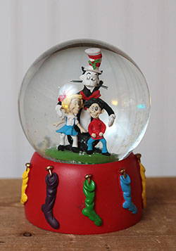 Cat in the Hat Water Globe