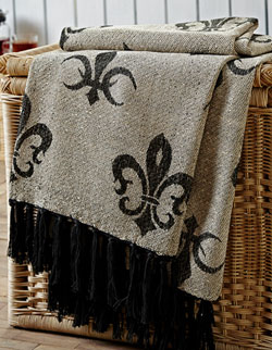 Elysee Jacquard Woven Throw